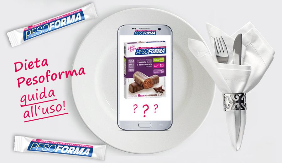dieta-pesoforma-istruzioni-uso